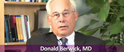 Donald Berwick, MD